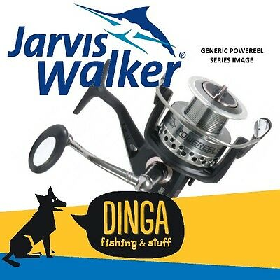Jarvis Walker Powereel 4000 Spinning Fishing Reel