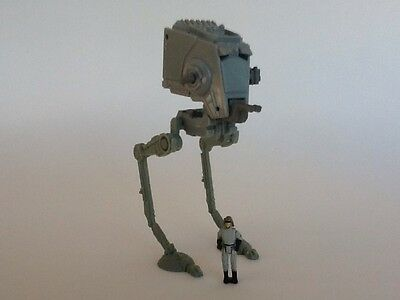 GALOOB STAR WARS ACTION FLEET AT-ST VEHICLE W/ FIGURE USED