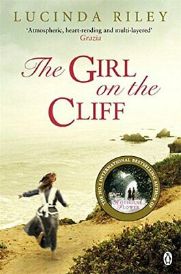The Girl on the Cliff by Riley, Lucinda Book The Cheap Fast Free Post