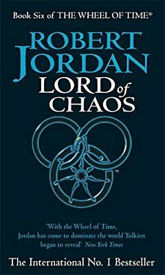 Lord Of Chaos: 6/12 (Wheel of Time) by Jordan, Robert Paperback Book The Cheap