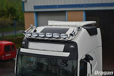 2013+ Volvo FH4 Globetrotter Stainless Steel Roof Top Bar Light Bar Truck