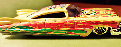 Hot Wheels Cadillac Mundo Lucha El Fuego Special From Larger Older Set VHTF