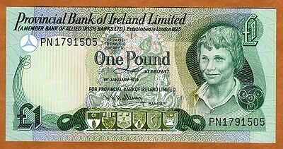 Ireland Northern, Provincial Bank, 1 pound, 1979, P-247b, UNC