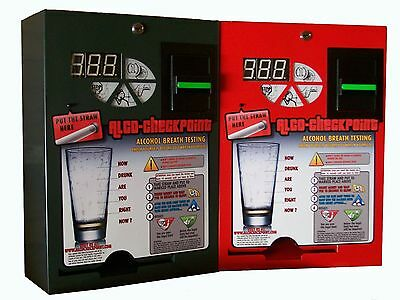 Alcobuddy Alco Checkpoint Breathalyzer Vending Machine OEM Service Manual
