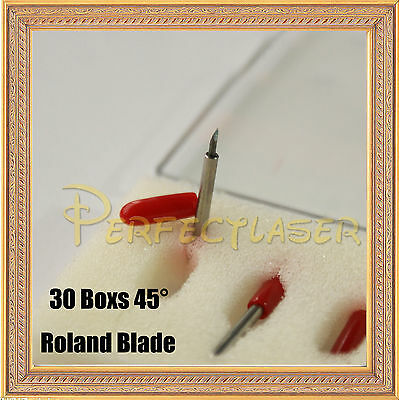 90pcs Roland Cutting Blade 45° for Vinyl Cutter Plotter Sign Making Machine
