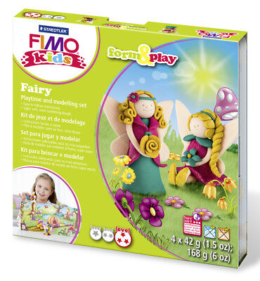 Fimo Kits For Kids Form & Play Polymer Modelling Oven Bake Clay - SET FAIRY