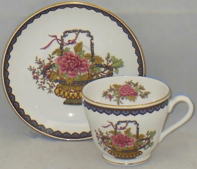 Spode Chinese Basket Footed Cup & Saucer Set