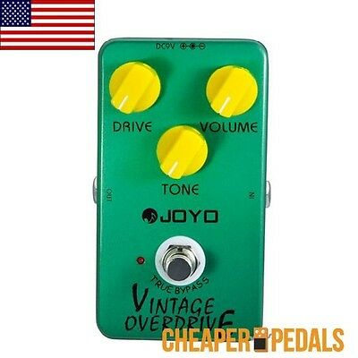 NEW JOYO JF-01 VINTAGE OVERDRIVE Guitar Effects Pedal *FREE* Shipping! US Dealer