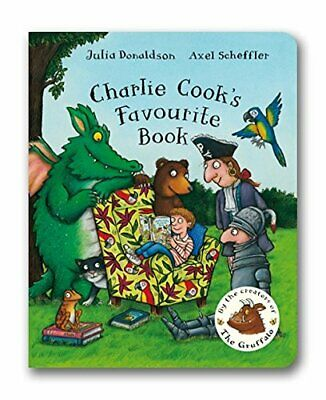 Charlie Cook's Favourite Book, Donaldson, Julia Paperback Book The Cheap Fast