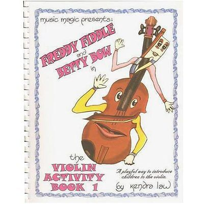 Violin Activity Book 1 by Kendra Law - Learn Violin