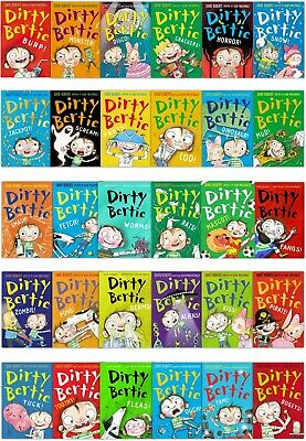 Dirty Bertie Series 30 Books Collection Set Pack Brand NEW Rats, Smash, Zombie