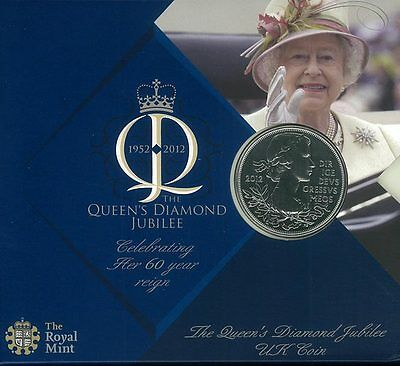 UK Coin, 2012 RMC1116 The Queen Diamond Jubilee Coin, Important People