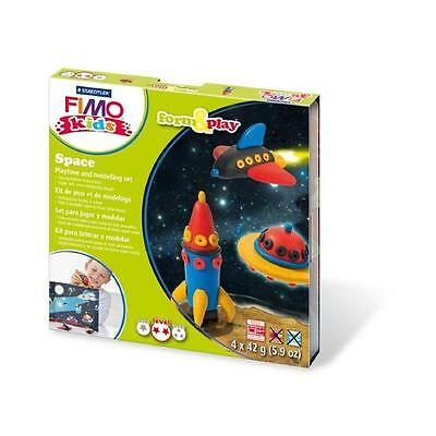 Fimo Kits For Kids Form & Play Polymer Modelling Oven Bake Clay - SET SPACE