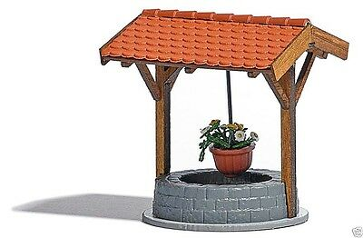 Busch H0 1524 Covered Well with Flowers    1:87