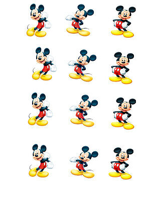 Any Character Or Disney Mickey Mouse Minnie Mouse Edible Cupcake