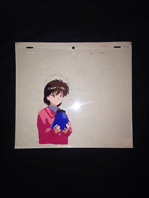 Anime Cel Yu Yu Hakusho Keiko & Pu - Animation Japanese Cartoon A3 Menga Sketch