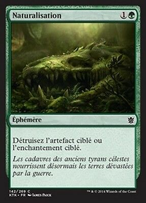 MTG Magic KTK - (4x) Naturalize/Naturalisation, French/VF