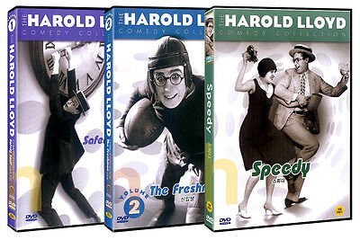 The Harold Lloyd Comedy Collection (3discs)  DVD NEW