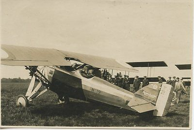 Photo Aviation / Au Dos Chartres 1930