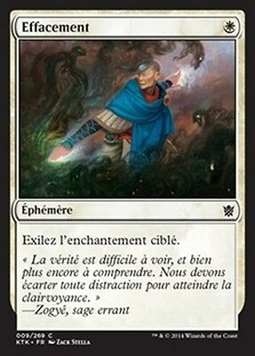 MTG Magic KTK - (4x) Erase/Effacement, French/VF