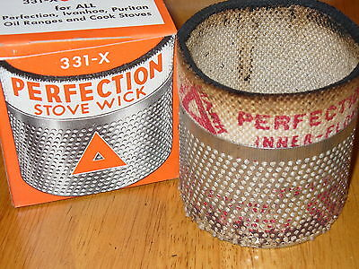 RARE VINTAGE NEW OLD STORE STOCK Perfection Stove Wick 331-X