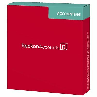 Reckon Accounts Accounting 2017 Annual License Software New/Current (QuickBooks)
