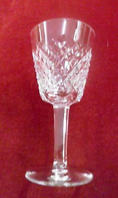 "Waterford Alana 5 7/8"" Tall Claret Wine - Crystal - 1952"