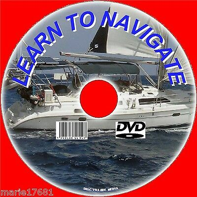 Learn Marine Navigation, Radar,charts Courses Explained Tides Winds ++ Dvd New