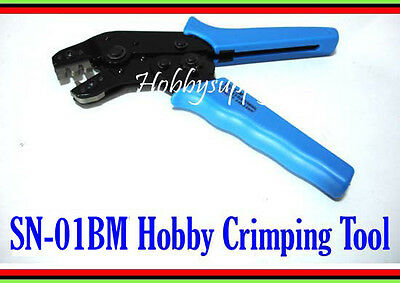 1 x SN-01BM Crimping Tool for Hobby 2.0mm PH,2.5mm XH,JST,EH,SM,Servo Connector