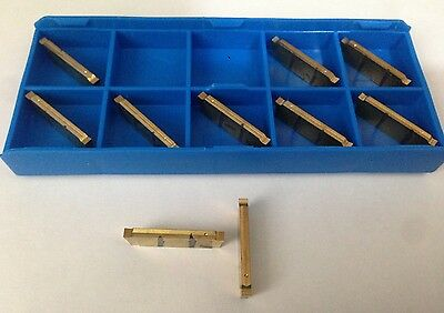 Carbide & Ceramic Inserts 1 X ISCAR DGN 2400WP IC328 Cut Off Carbide Inserts New Cnc Lathe DGFH 2.4mm Business & Industrial