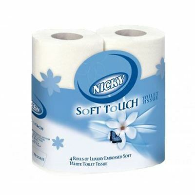 NICKY SOFT TOUCH TOILET TISSUE 5x 9rolls