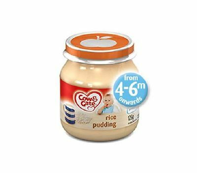 Cow & Gate Rice Pudding From 4Mths 6X200G