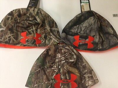 Under Armour Reversible Camo Fleece Beanie 1249768 All Colors