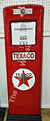 New Texaco Star Gas Pump Front Door Display Retro Oil -Free Shipping* & Handling