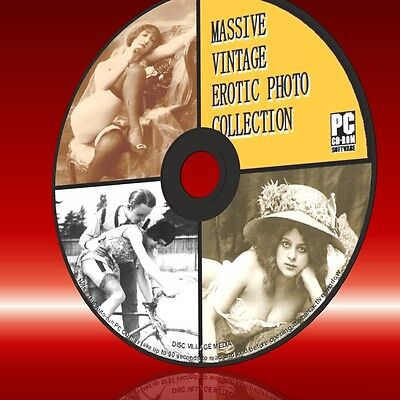 Vintage Victorian Edwardian Hot Erotic Girl Photos Historic Saucy Collection Cd