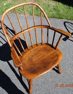 Antique Sack Back Windsor Chair