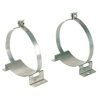 OMP Fire Extinguisher Bracket & Strap For Ø130mm Bottle - Pair - Race/Rally