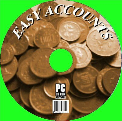 Simple Accounts Solution, Easy Home & Small Business Cd Simple To Use