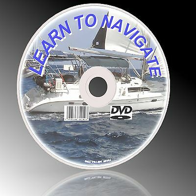 Learn Marine Navigation, Radar Charts Plotting Winds Tides & Courses Dvd New
