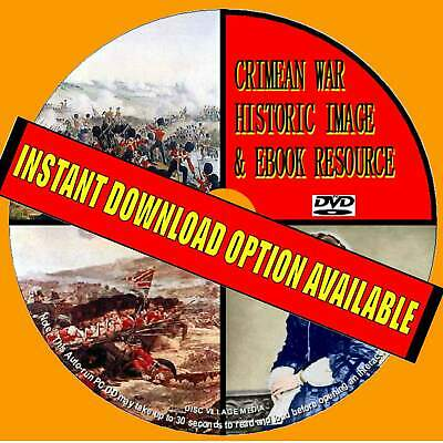 450+ Educational Crimean War Images + 50 Great Pdf Books Dvd-Rom Vintage History