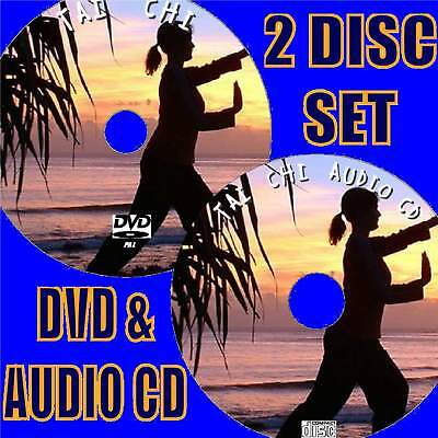 Beginners Guide To Tai Chi Video Dvd & Cd Relax Inner Calm Strength Control New