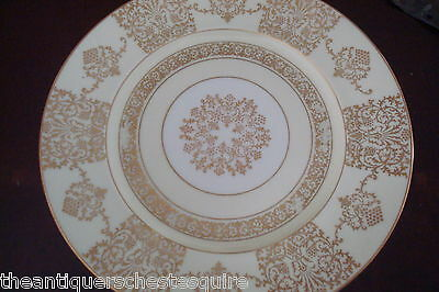 Hutshenreuther Selb Bavaria 6 dinner plates, white and gold[8]-1