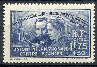 Promo / Stamp / Timbre / France Neuf Pierre Et Marie Curie N° 402 ** Cote 27 €