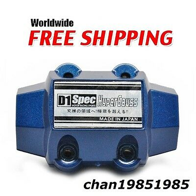 D1 Universal Magnetic Gas Oil fuel saver Performance Trucks & Cars Blue New