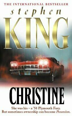 Christine by King, Stephen Paperback Book The Cheap Fast Free Post