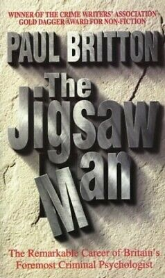 The Jigsaw Man, Britton, Paul Paperback Book The Cheap Fast Free Post