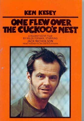 One Flew Over The Cuckoo's Nest by Kesey, Ken Paperback Book The Cheap Fast Free