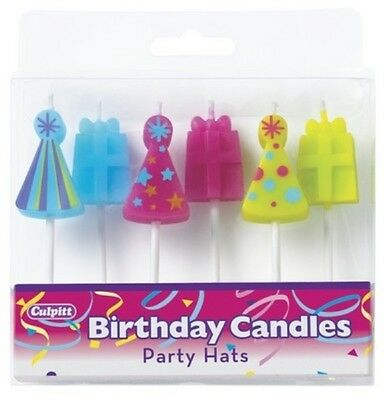Party Hats Birthday Candles ~ NEW!!! - 6665