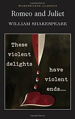 Romeo and Juliet (Wordsworth Classics) by Shakespeare, William Paperback Book
