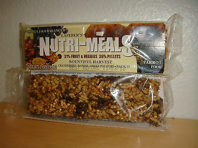 Lafeber's Nutri-Meals Bountiful Harvest Parrot Food Treat